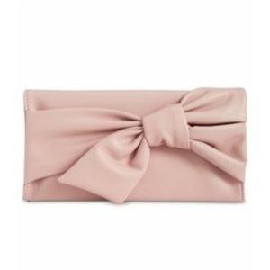 Handbags - INC Bowah Hands Through Clutch in millennial pink